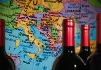 Map with Wine