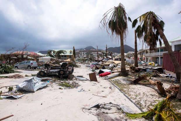 TOPSHOT-FRANCE-OVERSEAS-CARIBBEAN-WEATHER-HURRICANE